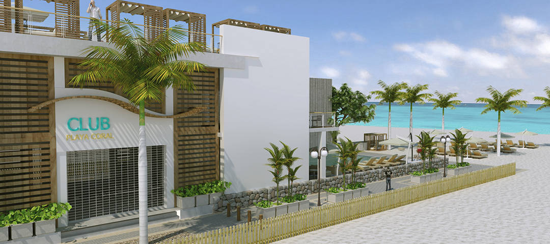 CLUB PLAYA CORAL Render Beach View