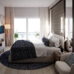 Cana Pearl Interior bedroom rendering