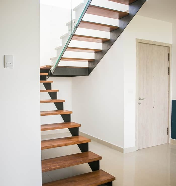 Coral Village stairs