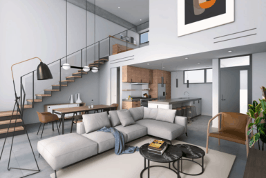 The Flats at the Village Loft Photo Rendering