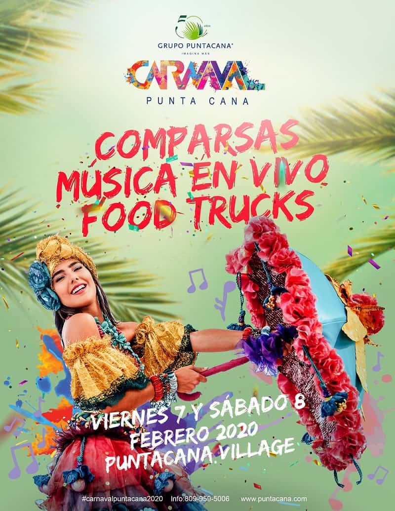 The Punta Cana Carnival will celebrate its 13th edition on February 7 and 8