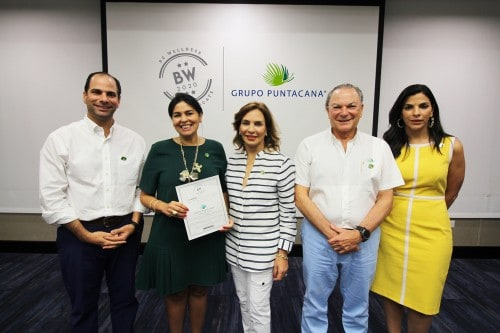 "Puntacana Group receives ""Be Wellness"" certification for its corporate welfare practices"